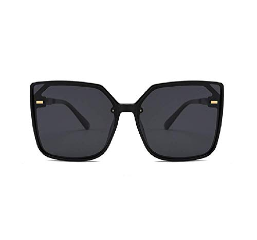 Super Übergroße Sonnenbrille Für Frauen Männer Flat Top Fashion Flat Top Platz Rahmen Fashion Wear Uv400 Sonnenbrille Klassischen Trend