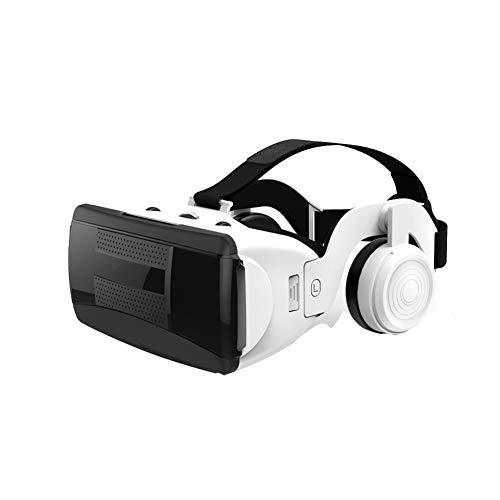 YTBLF Digitale 3D-Virtual-Reality-Brille, VR-Brille mit HiFi-Kopfhörer, kompatibel mit 4,0-6,0 Zoll...