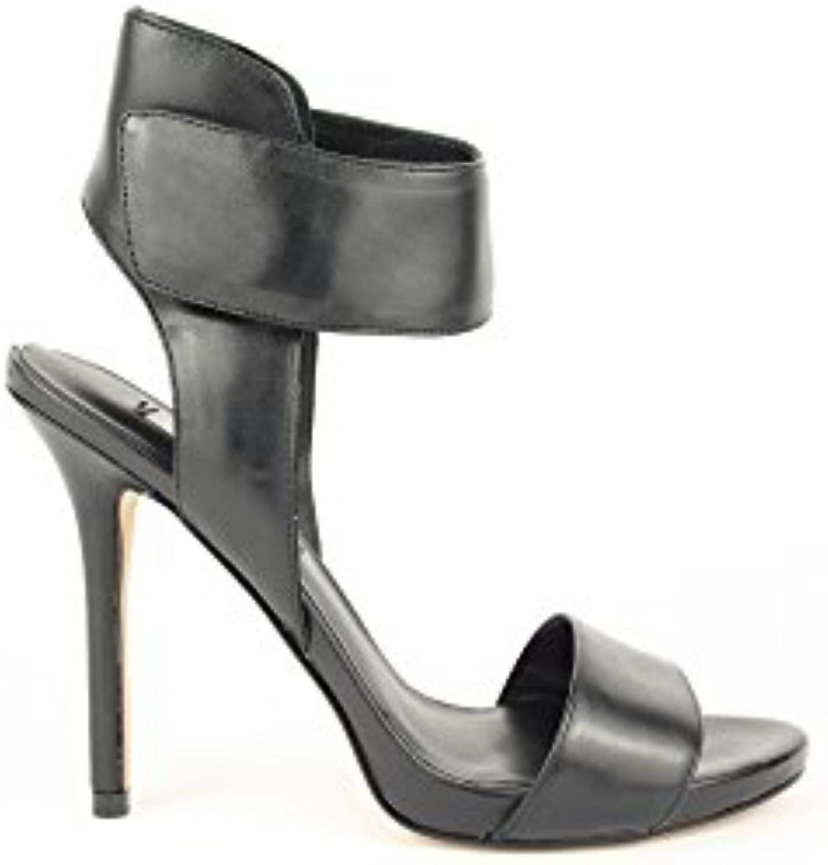 Scarpe Sandali Donna Guess Mod. LALI SANDAL FL2LAILEA03 Col. Col. Col. Nero in pelle. | Nuovo design diverso  b31994