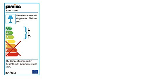 Dreams4Home Wohnkombination 'Bern B', (B/H/T) ca. 310 x 197 x 42 cm, Wohnwand, Anbauwand, Schrankwand, Wohnzimmerschrank, Wohnzimmer, Büro, Gästezimmer, in Eiche Sägerau, Beleuchtung:mit Beleuchtung;Ausführung:mit Glas-TV-Bühne - 4