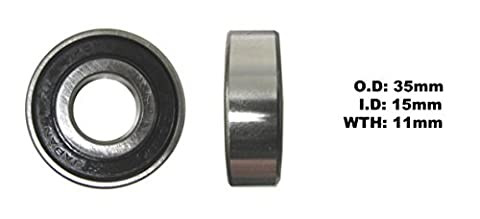 Quadzilla 250 E (Europe) 2006-2013 Wheel Bearing - Front Left - Outer (Each)