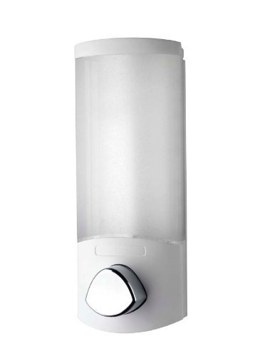 Better Living Products Aviva Trio Dispenser Shampoo e Gel Colore Bianco erogatore di Sapone