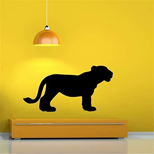 wandaufkleber küche fliesen Black Panther für Wohnzimmer Schlafzimmer -