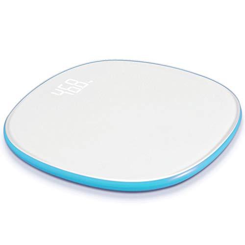 Digitale Personenwaagen Home Smart Digital Bad Gewicht Elektronische Waage WiFi Datenübertragung Disc Elektronische Waage 330 Pfund Langlebig Digitale Personenwaagen (Color : Blue)