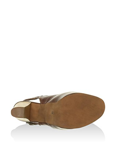 scarpa donna in pelle Jeffrey Campbell Brown Calf F1627 Marrone