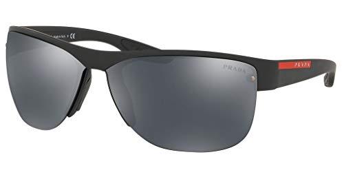 Ray-Ban Herren 0PS 17US Sonnenbrille, Gold (Black Rubber), 68.0