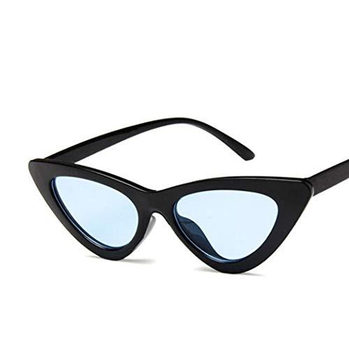 Cat Eye Sonnenbrille Frauen Vintage Harz Objektiv PC Rahmen UV400 Gläser für Camping Freizeit Einkaufen Fahren Zubehör