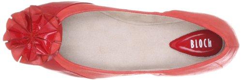 Bloch Alyssa BL 900 LR, Ballerines femme Rouge-TR-H5-20
