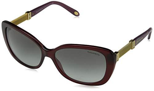 Tiffany & Co. Unisex TF4106B Sonnenbrille, Rot (Red 80033C), One Size (Herstellergröße: 57)