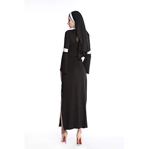 Und Kostüm Tanz Uniformen - AFYH Halloween-Kostüme Einteiliges Kleid Sexy Mary Nonnen Spiel Uniformen Uniformen Tanz Leistungen Schlank, Polyester-Material, Stoff Komfort.