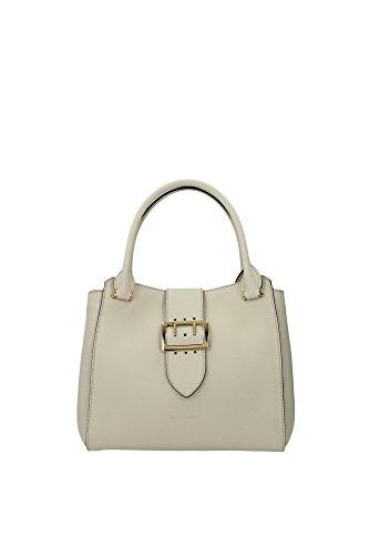 Handtasche Burberry Damen Leder Kalkstein und Gold 4029030 Beige 16.5x27.5x29.5 cm
