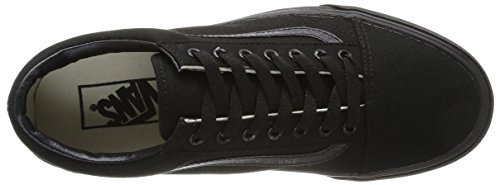 Vans U Old Skool, Baskets mode mixte adulte Noir (Black/Black)