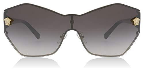 Ray-Ban Damen 0VE2182 Sonnenbrille, Blau (Pale Gold), 40.0