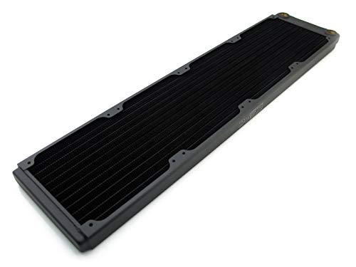 XSPC 5060596650039 - TX480 Ultra Thin Copper Quad Radiator - Black - Pc-radiator Xspc Von