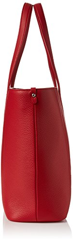 Hugo - Mayfair Shopper, Borse a spalla Donna Rosso (Bright Red)