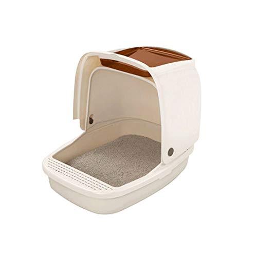SELCNG Selccng Ultra Selbstreinigende Katzentoilette mit Kapuze, Mülleimer, hygienisch, geruchlos
