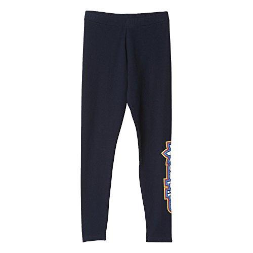 adidas Leggings Femme, Taille Unique Blu/Grigio (Tinley)