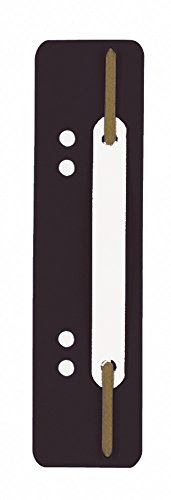 Durable Fastener Flexi - Sistema de encuadernación para carpetas, negro, 250 de unidades
