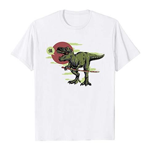 Toasye Kurzärmliges Freizeithemd für Herren im Frühling und Sommermode Herren Druck Shirt Kurzarm Casual T-Shirt Bluse Tops Largo-slip-ons