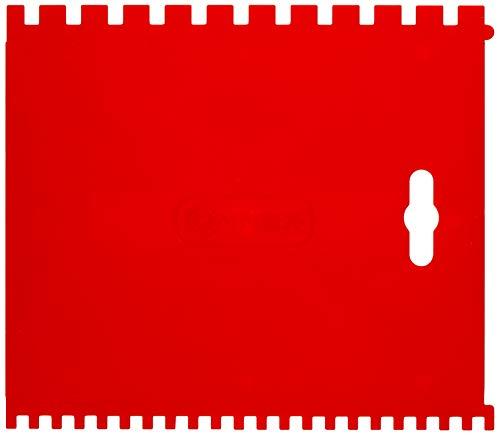 Connex COX883270 Plástico llana dentada, Rojo