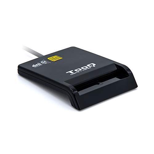 Tooq TQR-210B - Lector Externo DNI electrónico Tarjetas