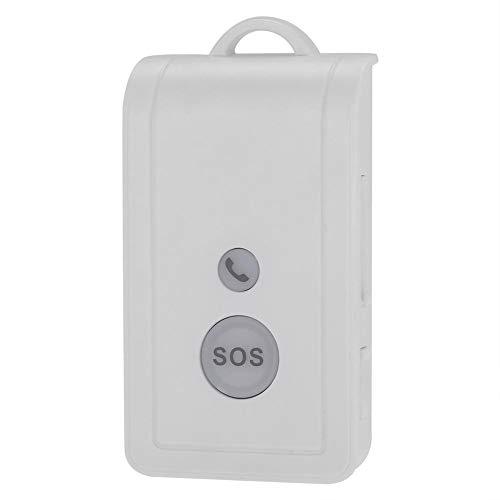 Pulsante Panico SOS SIM Card GSM Emergenza Wireless Sistema AllarmeKit Sicurezza Dispositivo Chiamata Emergenza con Cinturino e Cavo Ricarica USB per Casa Appartamento Negozio Ufficio Scuola