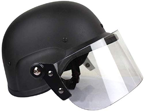 Winer Outdoor Klassischer taktischer Spezialschutzhelm der Polizei M88 USMC Shooting Klassischer Schutzhelm mit Schutzbrille