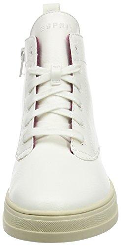 Esprit Sidney Bootie, Baskets hautes femme Blanc - Weiß (110 offwhite)