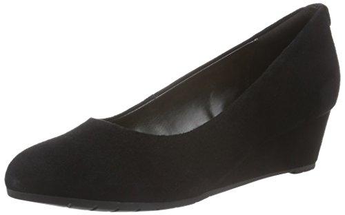 Clarks Vendra Bloom, Women's Wedge Heels Sandals, Black (Black Sde), 5 UK...