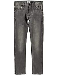 2b62eb30a667 Quiksilver Distorsion Stone Grey - Slim Fit Jeans for Boys 8-16 EQBDP03156