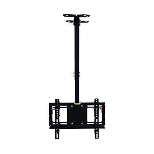 SUBBYE Heavy Duty Einstellbare Decken TV Halterung Für 32-48 Zoll Plasma / LCD / LED-Bildschirm - Schwarz