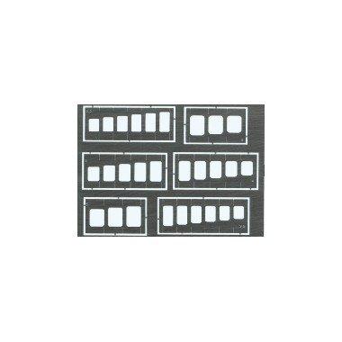 Eduard Accessories-0000230502000Cuadrados y Cuadrados Plantilla de Grabado