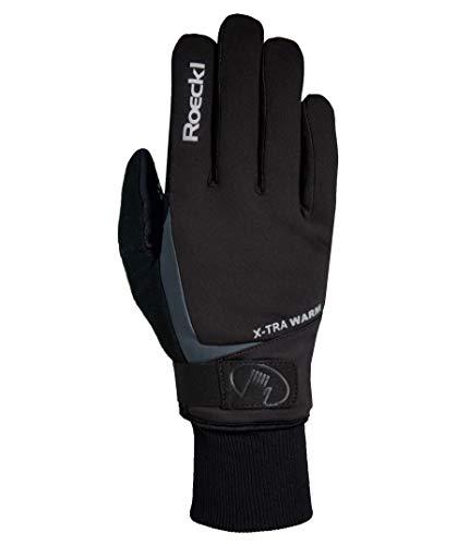 Roeckl Verbier Winter Fahrrad Handschuhe schwarz: Größe: 12