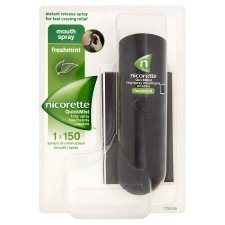 Nicorette QuickMist 1mg/Spray Mouthspray Freshmint 1 x 150 Sprays from Nicorette