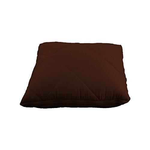JML quishion 2-in-1-gemütlich Warm Luxuriöse Qualität Bequem Kombination Quilt/Decke & Kissen/Kissen Braun