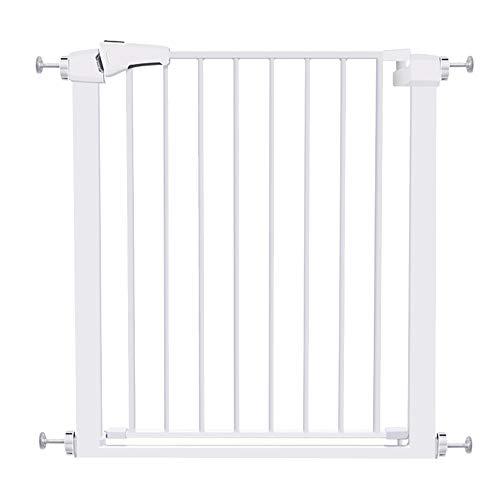 Barrières MAHZONG Porte de sécurité pour Enfants, clôture pour Animaux de Compagnie, Porte d'isolement pour bébé, Porte spéciale pour Murs carrés (Taille: 76-138 cm) (Taille : 97-103cm)