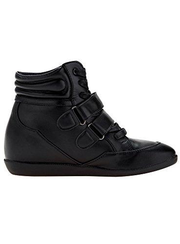 oodji Ultra Femme Baskets Sneakers Noir (2900N)
