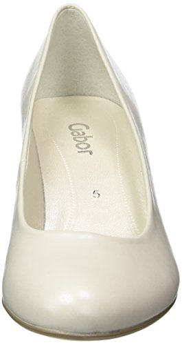 Gabor Shoes Fashion, Scarpe con Tacco Donna Bianco (off-white+Absatz 80)