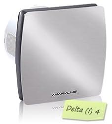 Amaryllis Bathroom Exhaust Fan 4 Inch Delta(I)-4 SS FINISH