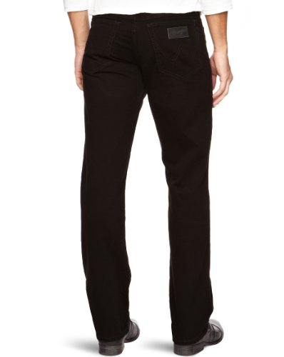 Wrangler - Texas Stretch - Jeans - Homme Noir