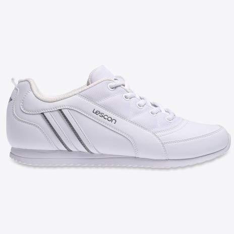 705fd49b63c45 Lescon L-6034 Sneakers Beyaz Günlük Yürüyüş Erkek Spor Ayakkabı (44) Ürün  Resmi