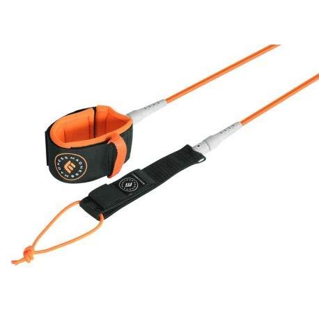 Madness Leash de Surf Unlimited - Orange 6'0
