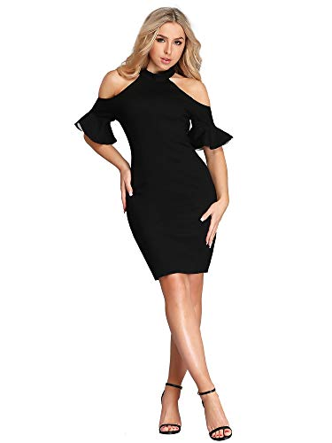 d2499df5f7 Ever Pretty Women's Sexy Short Party Cocktail Little Black Dresses 05884