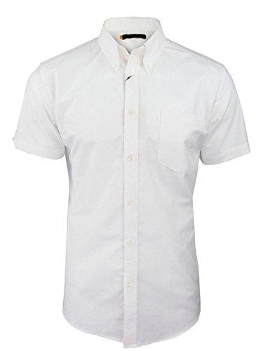 Herren Hemd Groß kurz Baumwolle Langarmshirt 2x l 3x l 4x l 5x l 6x l 7x l 8x l Weiß / Weiß