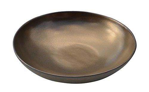 Sibo Homeconcept - Loft bronze ass creuse 22 cm (lot de 6)