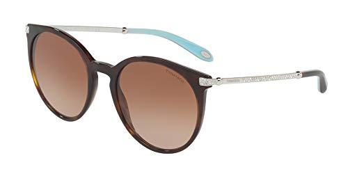 Tiffany & Co. Damen 0TY4142B 80153B 54 Sonnenbrille, Braun (Dark Havana/Browngradient)
