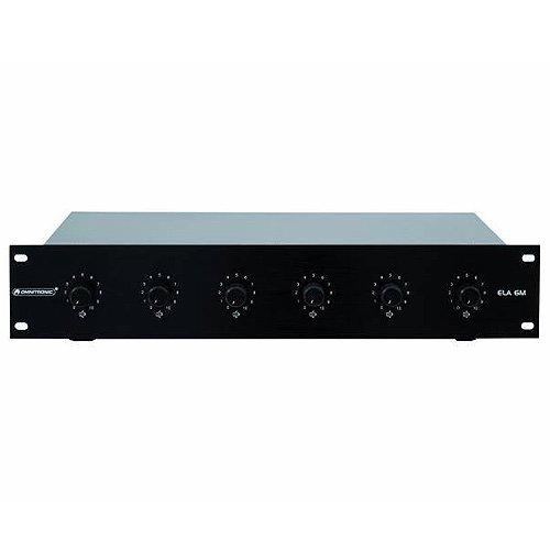 Transformatoren-zone (Omnitronic 80711326 ELA LS-Regler (6 m Zonen, 60 Watt) schwarz)