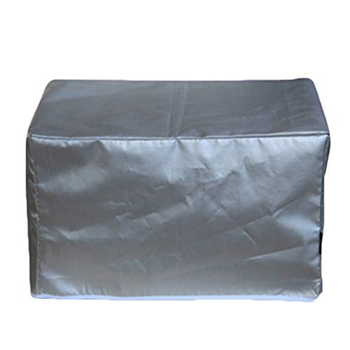 JIANFEI Housse Protection Salon De Jardin Conception De Velcro Imperméable Peut Être Ouvert, 2 Couleurs 20 Taille Personnalisable (Couleur : Silver, taille : 30x30x30cm)