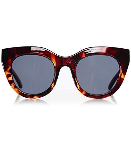 Le Specs Damen Sonnenbrille im Luftherz Einheitsgröße Braun