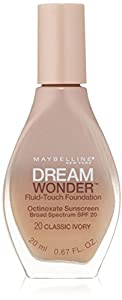 MAYBELLINE Dream Wonder Fluid Touch Foundation - Classic Ivory 20